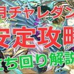 【パズドラ】3月チャレンジダンジョン9を安定ノーコン攻略!アシスト無効